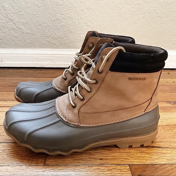 Sperry Mens Waterproof Duck Boot